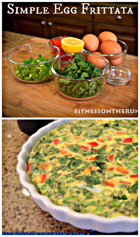 Simple, Healthy Egg Frittata Recipe // #Frittata #Healthy