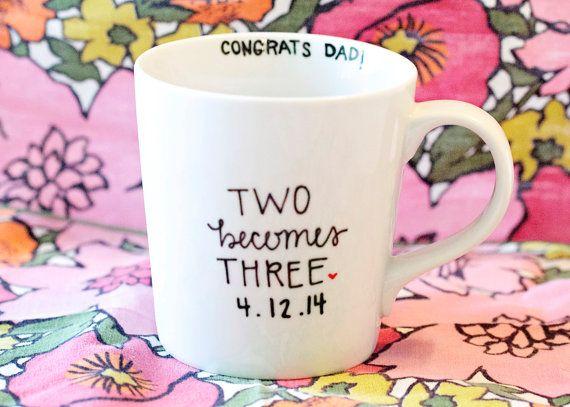 Pregnancy Announcement Mug on Etsy, $15.00
