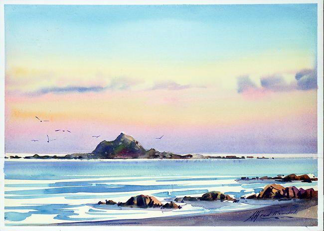 Twilight – Island Bay by Alfred Memelink