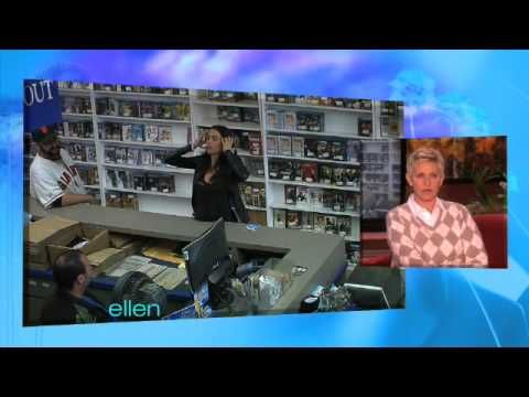 I seriously died from laughter. Sofia Vergara plays a hidden camera prank on the Ellen show.  I loooooove her on Modern Family.