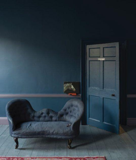 t ren selbst streichen leicht gemacht wandgestaltung pinterest dunkle wandfarbe farrow. Black Bedroom Furniture Sets. Home Design Ideas