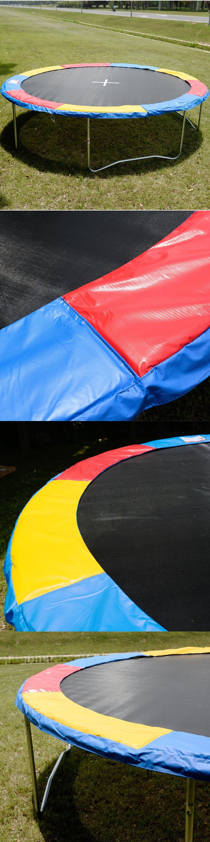 Trampolines 57275: 14 Ft Trampoline Safety Pad Epe Foam Spring Cover Frame Replacement Multi Color BUY IT NOW ONLY: $35.88