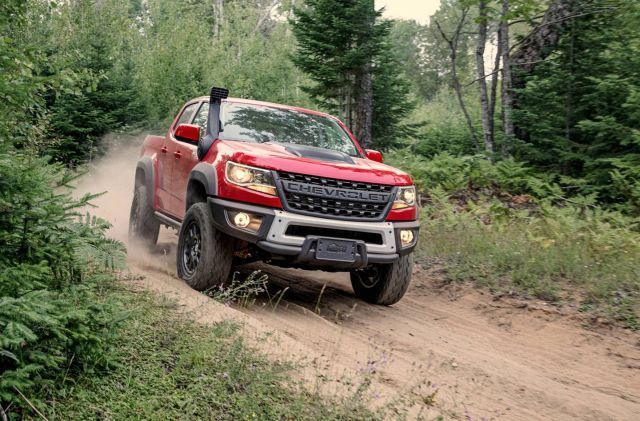 2020 Chevy Colorado Zr2 Bison Looks Imposing And Aggressive Chevrolet Colorado Chevy Colorado American Expedition Vehicles