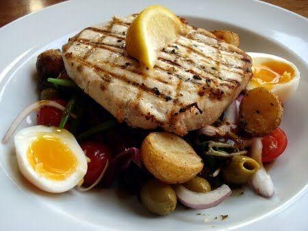 De Gevulde Olijf: Salade nicoise