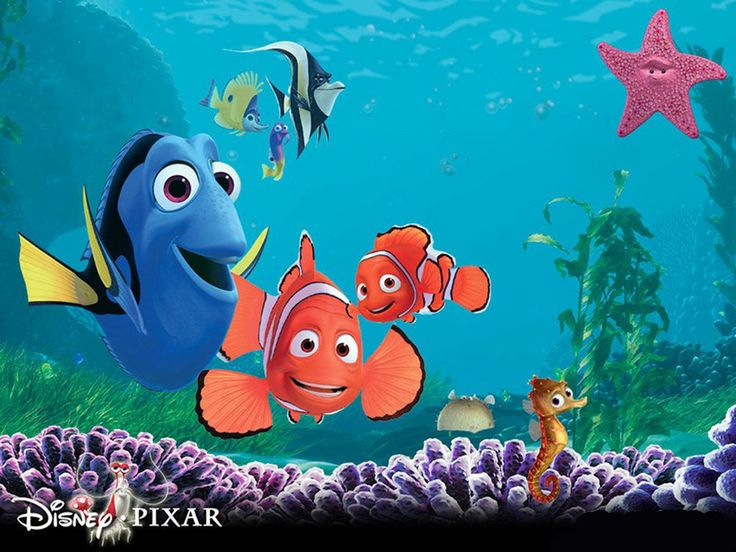 13x19 Finding Nemo Poster Kids Room Wall Art Home Decor New PERSONALIZE FREE