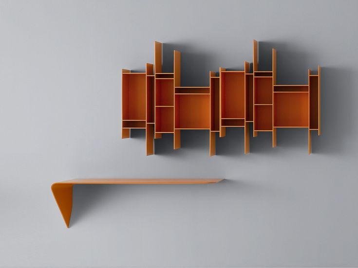 Descarga el catálogo y solicita al fabricante Randomito By mdf italia, librería abierta de pared de mdf diseño Eva Paster, Michael Geldmacher, Colección random
