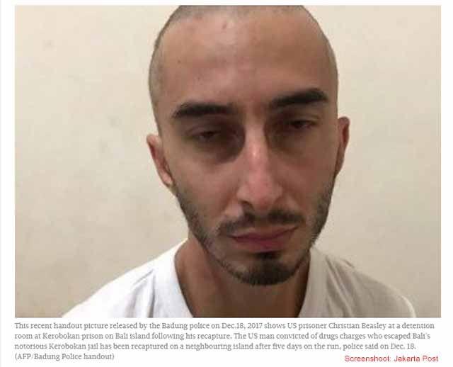 Flüchtiger Amerikaner wieder in Haft