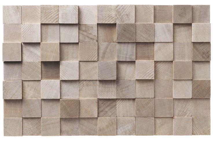 Papel mural maderas cuadradas