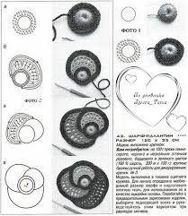 Resultado de imagen de розы макинтоша крючком