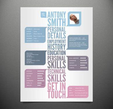 22 free creative resume template smashfreakz - Free Creative Resume Templates Download