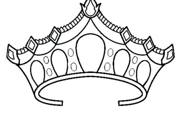 65 Cool Photos Of Tiara Coloring Pages Princess Crown Drawing
