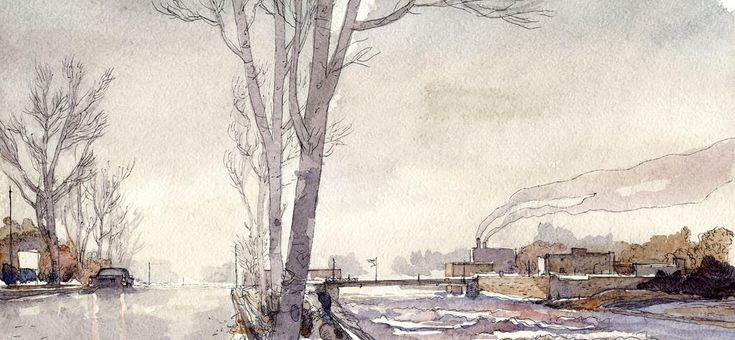 Gipi is one heck of a watercolourist.