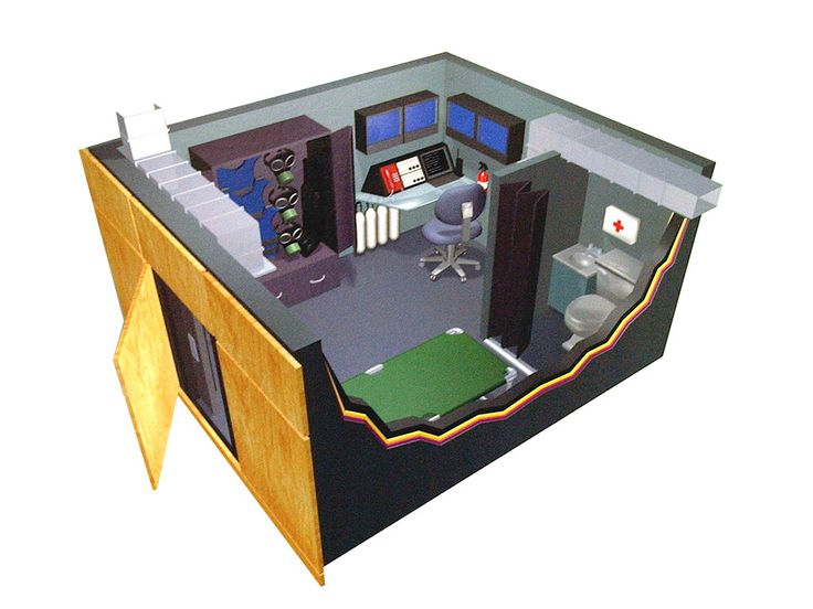 17 best images about secret room safe room panic room for Vault room construction