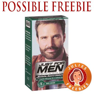 Possible Free Just for Men Beard & Mustache Color