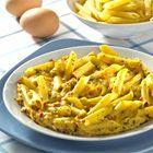 Een heerlijk recept: Mediterrane pasta omelet