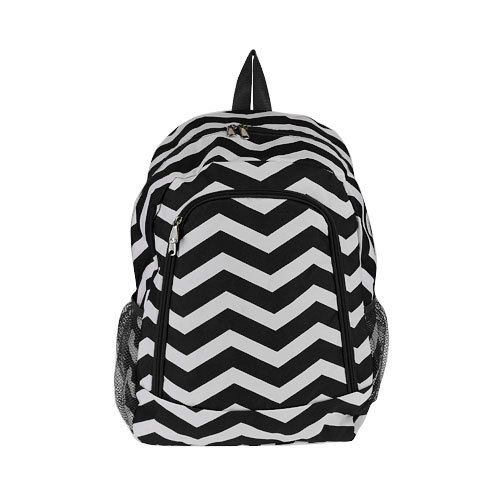 Monogrammed Backpack Black Chevron Girls by DoubleBEmbroidery, $24.95