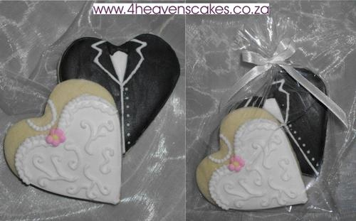 Bride and Groom - Hearts
