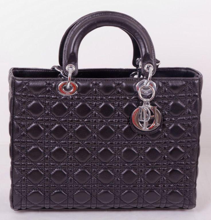 Сумка Christian Dior Диор (Lady Dior) натуральная кожа Модель Lady Dior