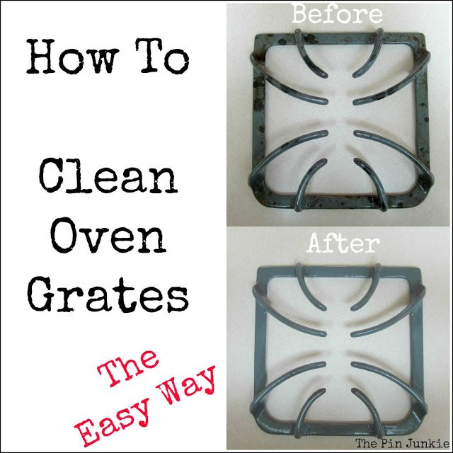 how to clean oven grates the easy way