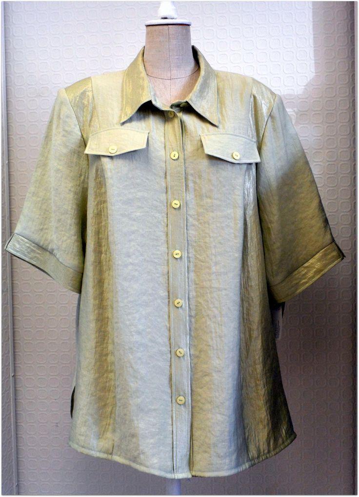 Dámská košile nadměrné oděvy