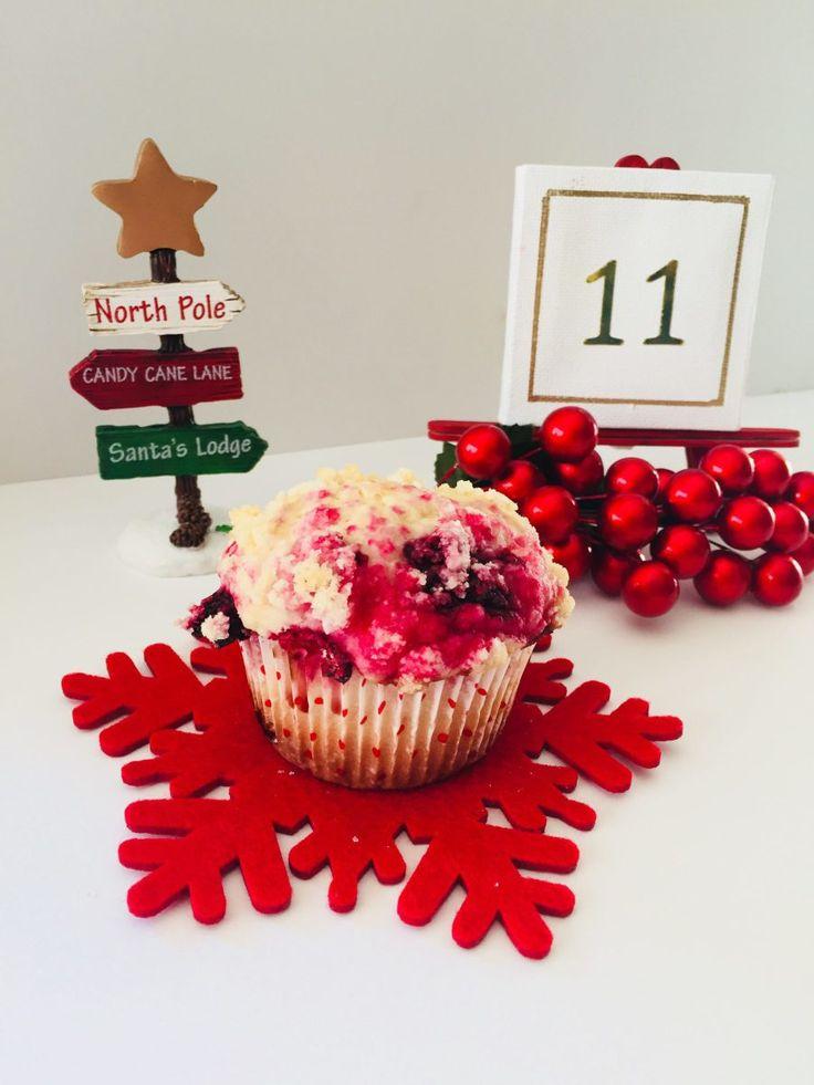 Raspberry Buttermilk Muffins