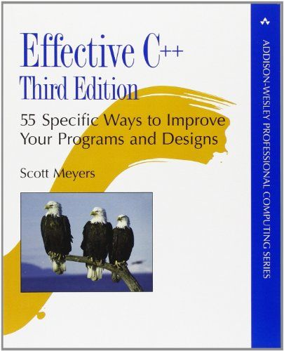 Effective C++: 55 Specific Ways to Improve Your Programs and Designs (3rd Edition) by Scott Meyers http://www.amazon.com/dp/0321334876/ref=cm_sw_r_pi_dp_nG33ub06JN5FT