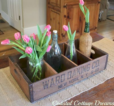 Coastal Cottage Dreams: Tulips