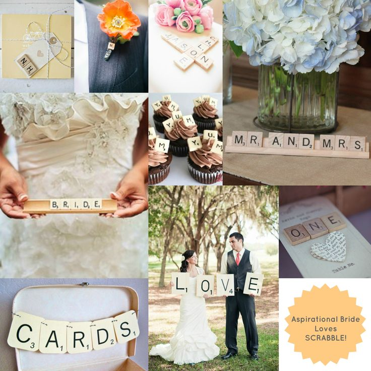Scrabble #Wedding Ideas!
