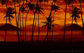 Tree murals, Palm trees and Murals on Pinterest