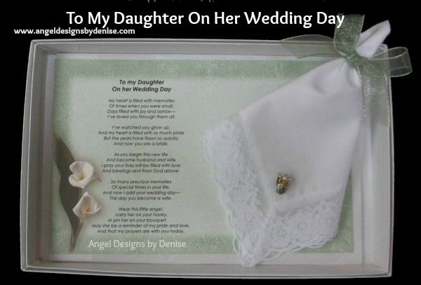 Perfect Wedding Gift For Your Daughter : ... perfect keepsake gift to give your #daughter on her #wedding day to