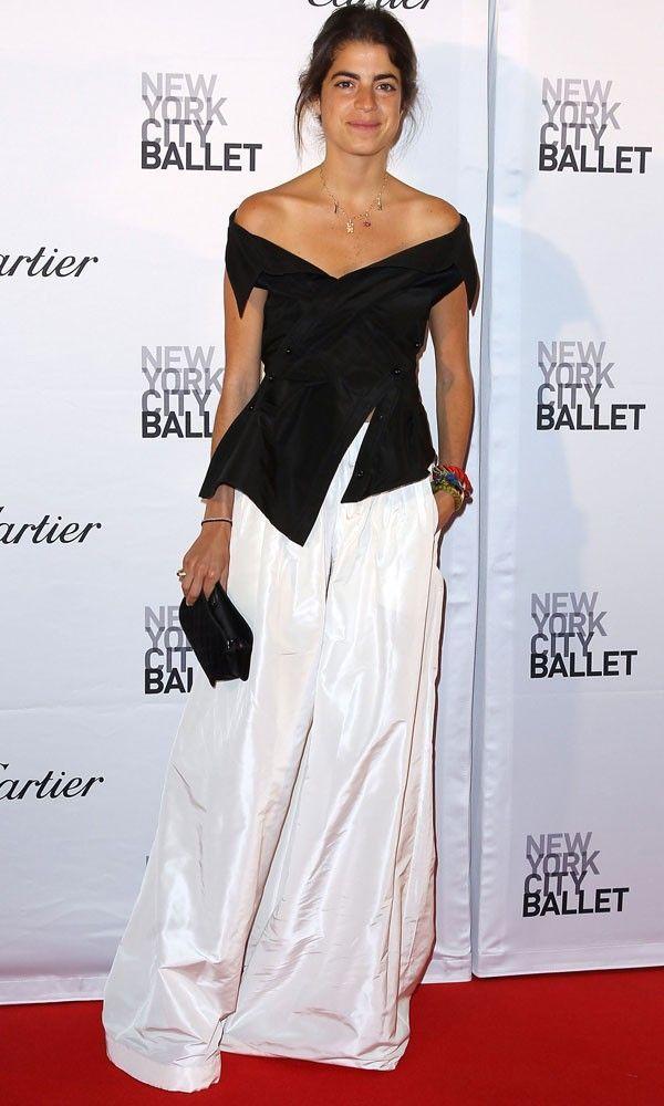 Leandra Medine Champions The Wide Leg Trouser Thursday 1st October In 2020 Fashion Leandra Medine Style Celebrity Style