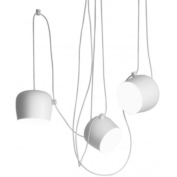 Flinders Aim hanglamp set LED wit