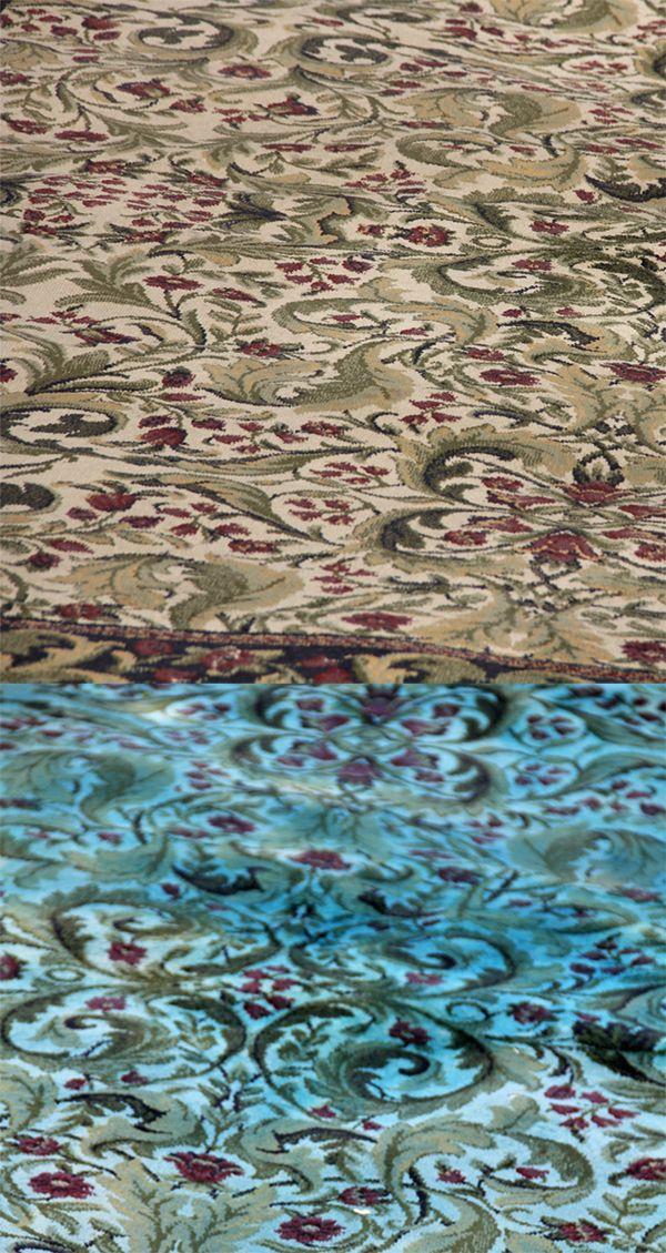 How to Over dye a rug with RIT | Foo Foo La La's Blog