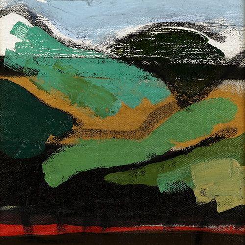 Landscape oil painting 16-096