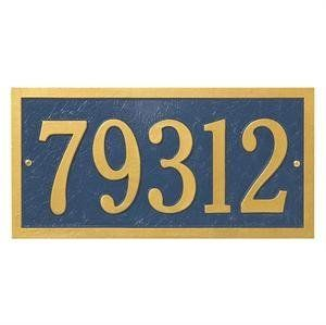 Whitehall Products Bismark Standard Address Wall Plaque by Whitehall. $60.99. For nearly 70 years, Whitehall Products has been crafting personalized name and Aluminum Address Plaques to provide a distinctive finishing touch to millions of homes. Renown as the world's largest manufacturer of personalized name and Aluminum Address Plaques, Whitehall Products's reputation for quality and reliability is unsurpassed. Few products can add as much value to the curb appeal of your ho...