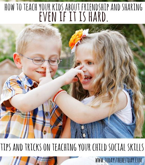 Teaching kids how to share and make friends can be such a challenge! A list of great tips to help children at a young age create good social skills!