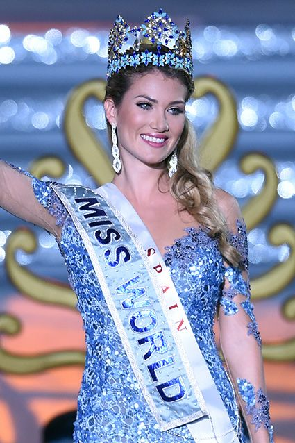 Spain's Mireia Lalaguna Royo Takes Miss World 2015 Crown