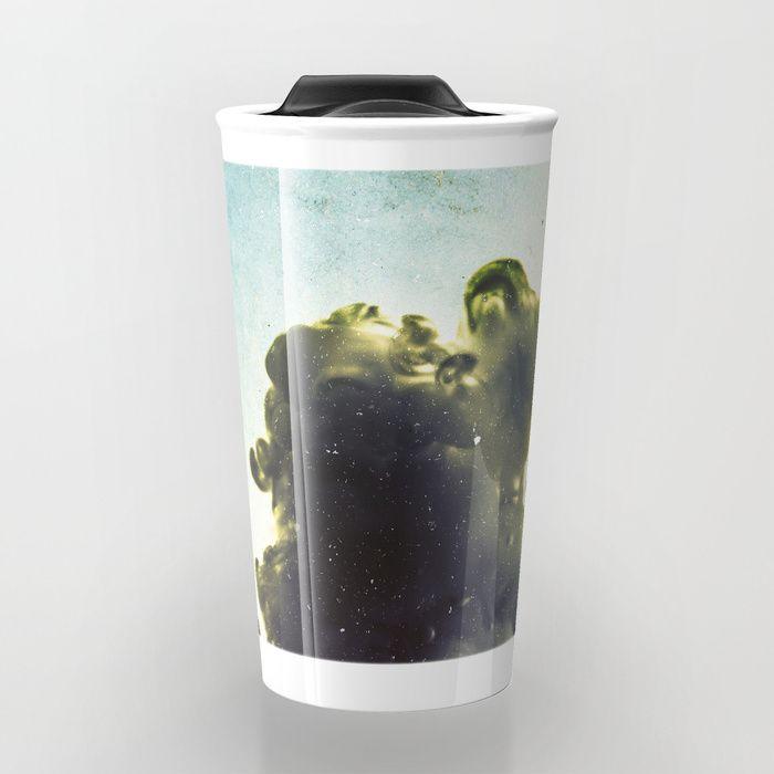 Liquid harmony II Travel Mug by happymelvin