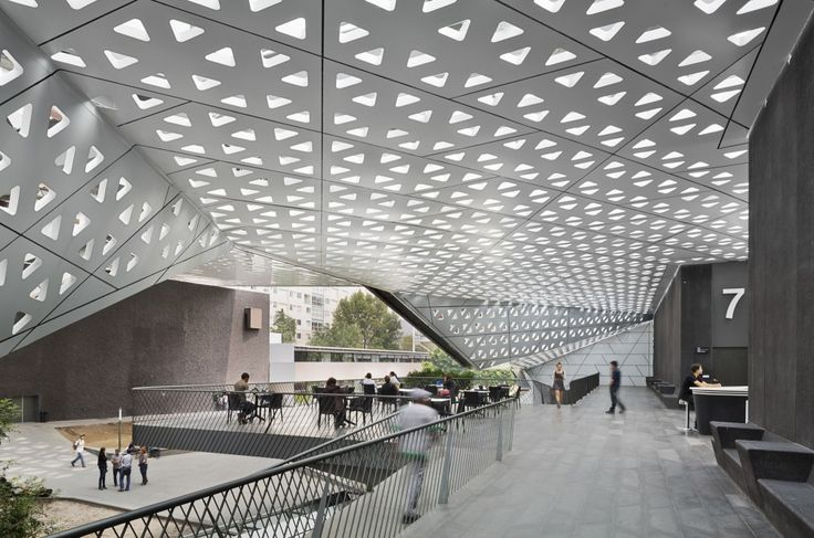 Cineteca Nacional S. XXI / Rojkind Arquitectos. Heard Michel at Indaba. Inspirational.