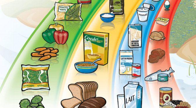 Le guide alimentaire canadien gratuit