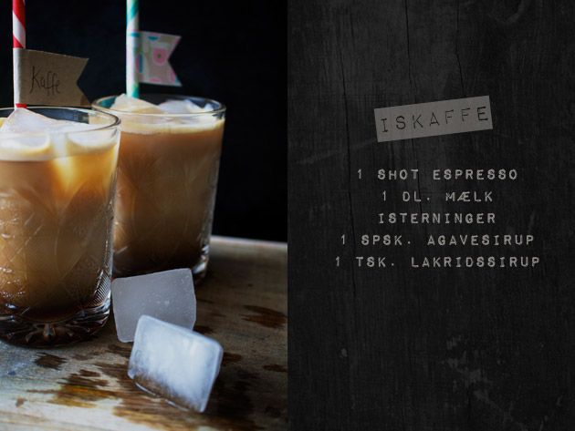 Iskaffe med lakrids - den her blogger er jo genial!