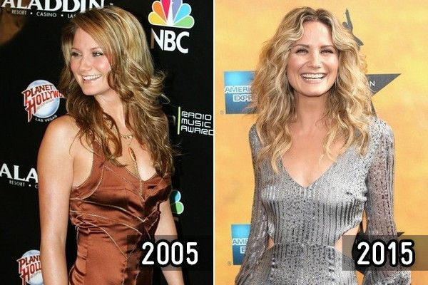 Jennifer Nettles - Then and Now: Country Stars - Photos