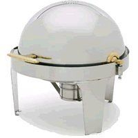 Royal Industries ROY COH 42 7 Qt Stainless Steel Round Roll-Top Chafer by Royal Industries. $154.80. Catering events takes a lot of careful planning that is backed with flawless execution. In order to consistently cater successful events, the catering equipment used must be durable and reliable. With that in mind, Royal Industries presents its 7-qt. stainless steel round roll-top chafer (ROY COH 42). This chafer has it all, as it includes a roll-top cover and drip-less water pa...