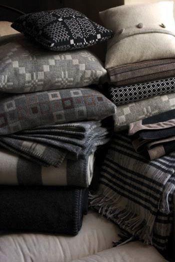 gorgeous Melin Tregwynt cushions and throws