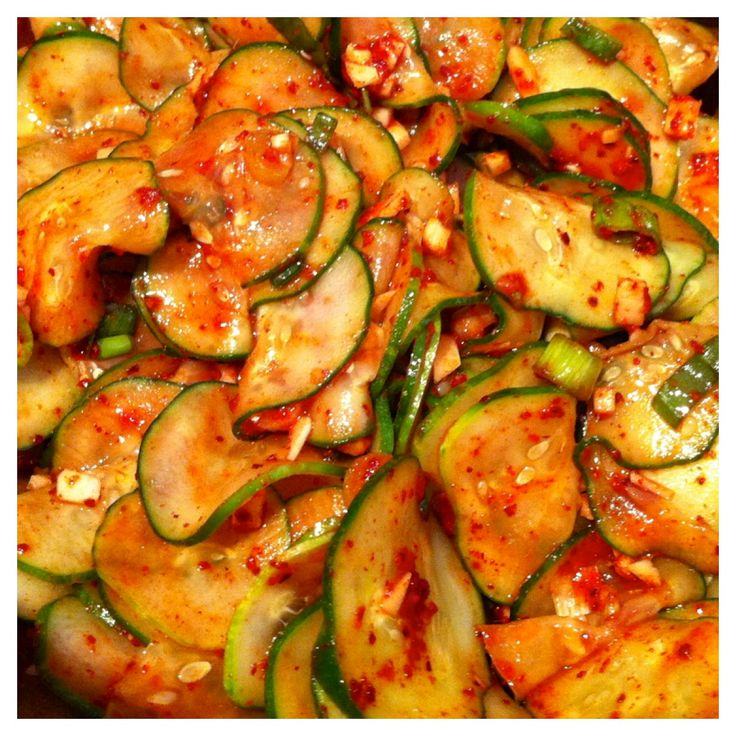 Oh most holy of food! There is no food that better represents the heart and soul of Korean people than kimchi. It's sassy, pungent, earthy, and will smack you in the head sometimes. I can't live wi...