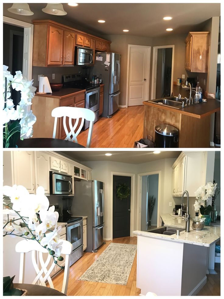 Best Kitchen Before And After Walls Sherwin Williams 400 x 300