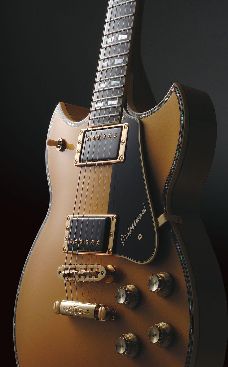 Une Yamaha SG3000 Gold. Retrouvez des cours de guitare d'un nouveau genre sur MyMusicTeacher.fr
