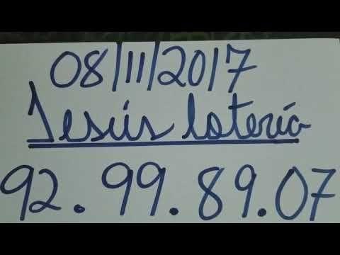 NÚMEROS PARA HOY 08/11/17 DE NOVIEMBRE PARA TODAS LAS LOTERÍAS ¡¡¡ NÚMEROS GANADORES !!! - YouTube