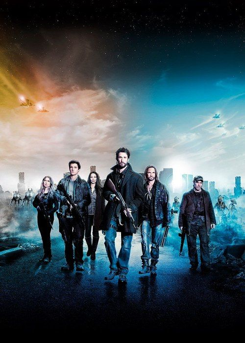"""Falling Skies   """"Falling Skies opens in the chaotic aftermath of an alien attack that has left most of the world completely incapacitated. In the six months since the initial invasion, the few survivors have banded together outside major cities to begin the difficult task of fighting back. Each day is a test of survival as citizen soldiers work to protect the people in their care while also engaging in an insurgency campaign against the occupying alien force."""""""