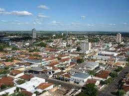 Cidade de Osvaldo Cruz SP Brasil